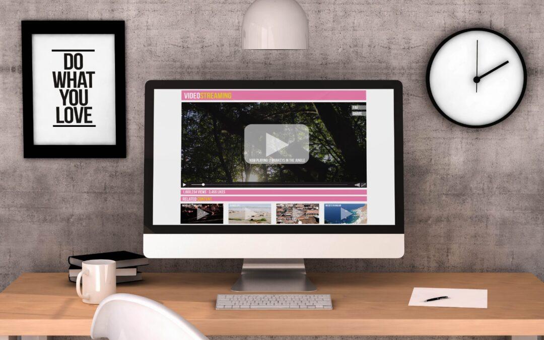 Hvorfor skal du bruge film på din hjemmeside?