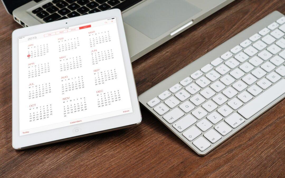 Sådan laver du et årshjul for dine online indsatser